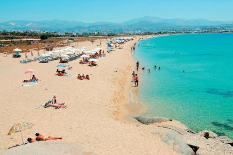 Agios Prokopis: The most famous and largest beach of Naxos