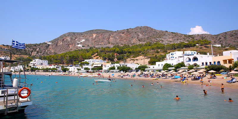 Kapsali: The beautiful beach