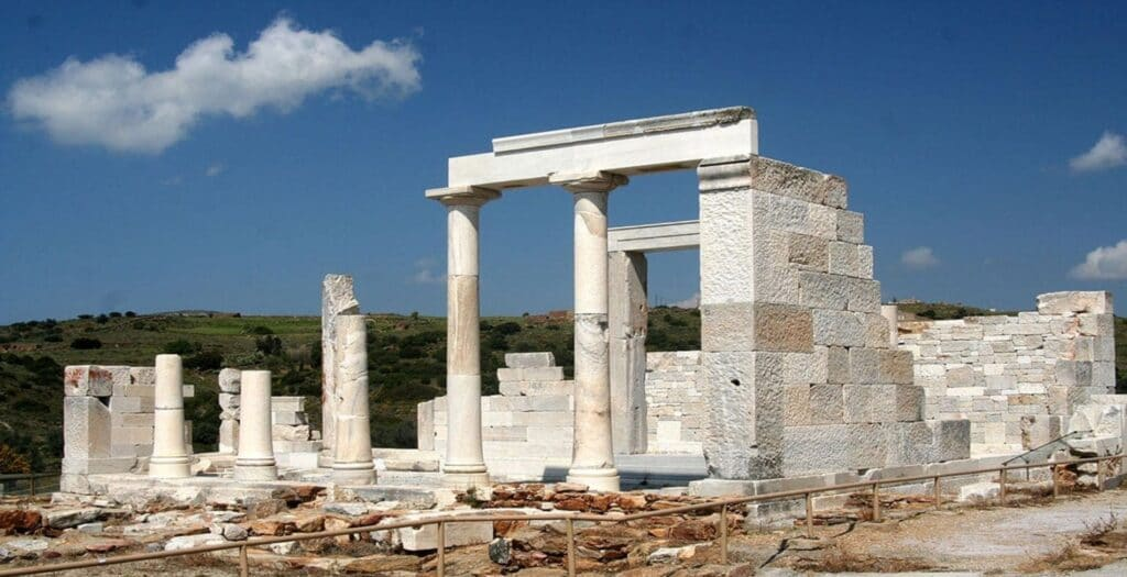 Naxos: The rare and impressive Archaeological Temple of the Goddess Demeter