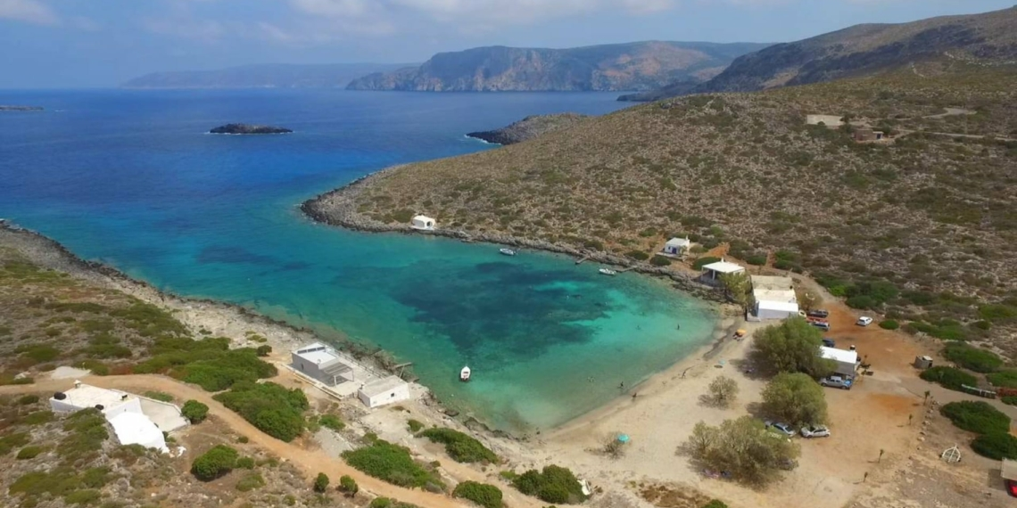 Limnionas Beach at Kythera: peaceful and picturesque