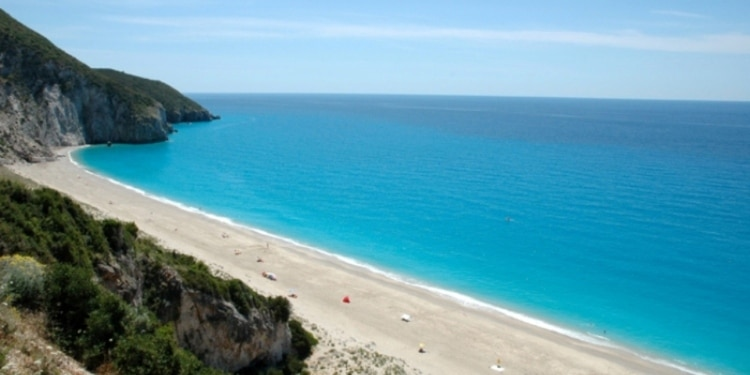 Lefkada: Milos Beach... like Hawaii