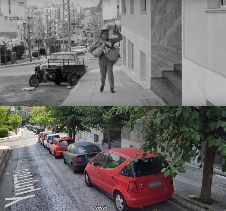 Πώς είναι σήμερα ο δρόμος που γυρίστηκε η ταινία «Ο παπατρέχας»2