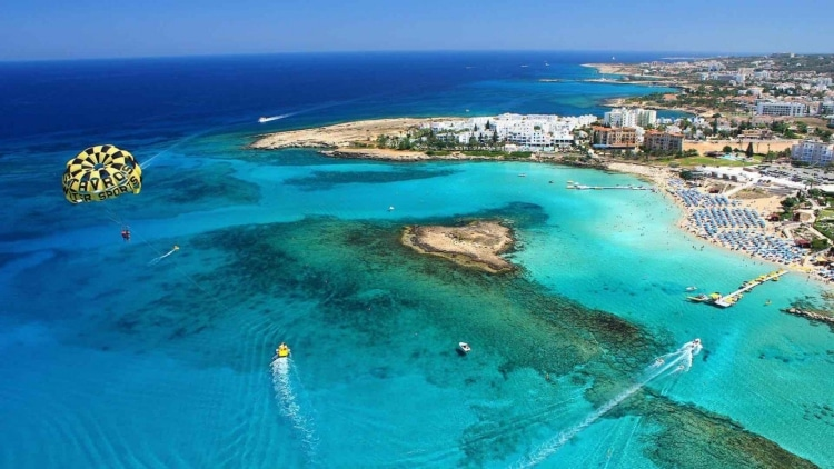 Cyprus: The beach voted 3rd best in the world1