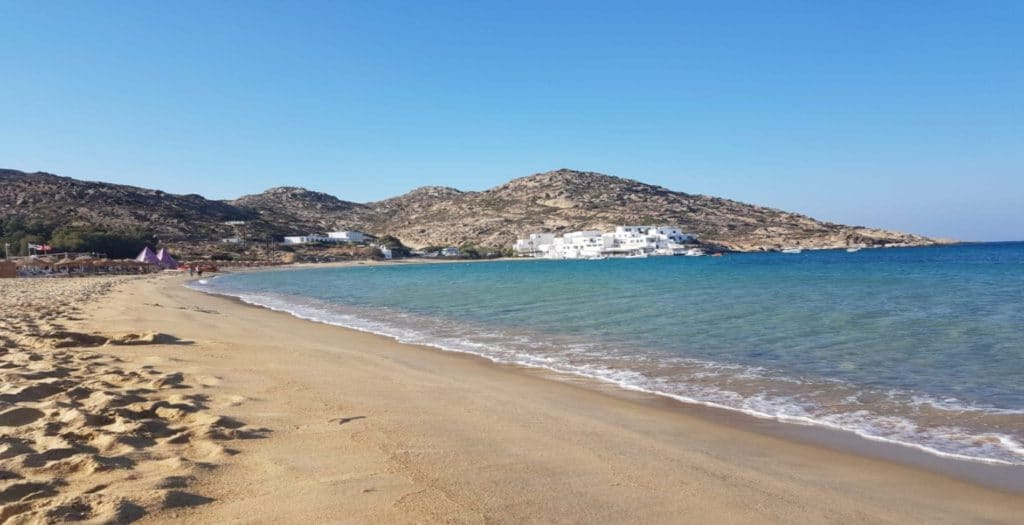 Mylopotas: The petal-shaped beach with all shades of blue2