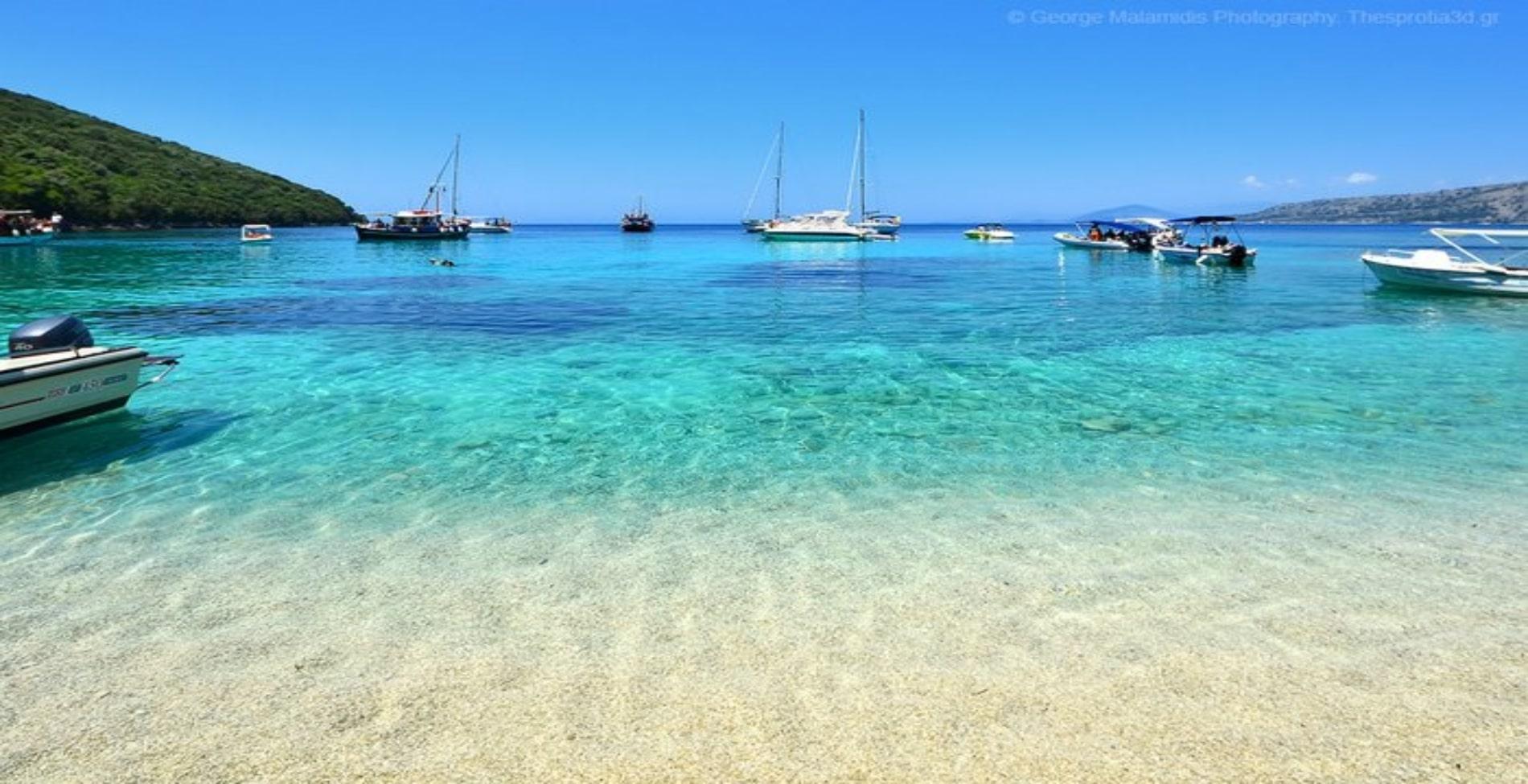 Σύβοτα: Η παραλία που είναι Πισίνα όνομα και πράγμα1