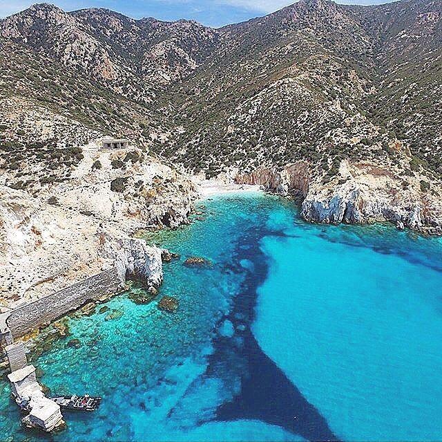 Aegean: The largest uninhabited island full of natural pools3