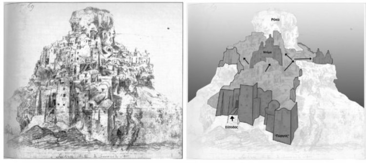 Η άγνωστη πρωτεύουσα της Σαντορίνης που σήμερα δεν υπάρχει
