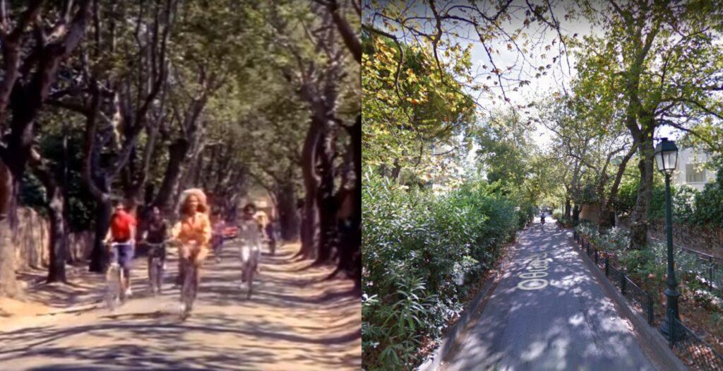 Πώς είναι σήμερα ο δρόμος που έκανε ποδήλατο η Αλίκη στο Ναυτικό