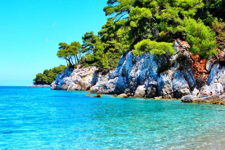 Skopelos: The island of the forest with the blue waters