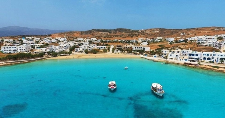 Koufonisia: Alternative holidays with water like that of a swimming pool