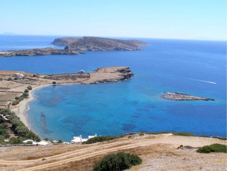 The Greek island of The Sun with its 18 beautiful beaches1