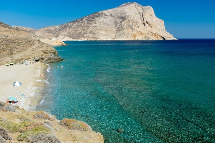 The Greek island said to have been created by the arrow of Apollo