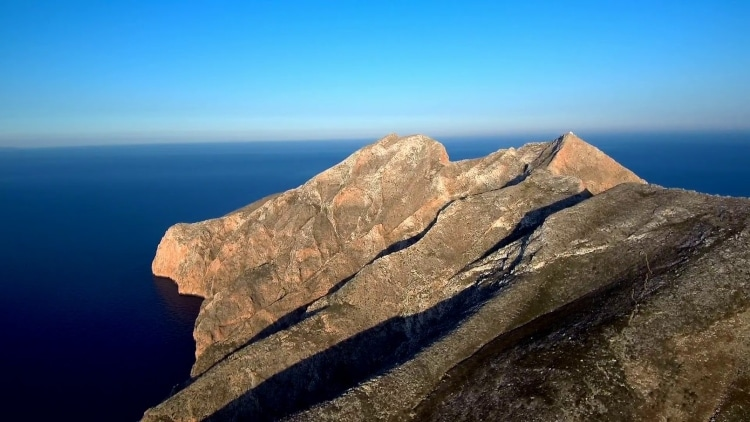 The Greek island said to have been created by the arrow of Apollo 2