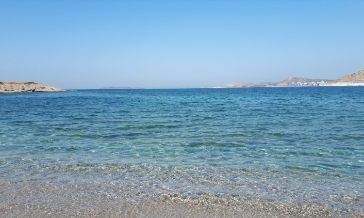 Douni Island: The unknown beach of Attica with its fluffy fine sand2