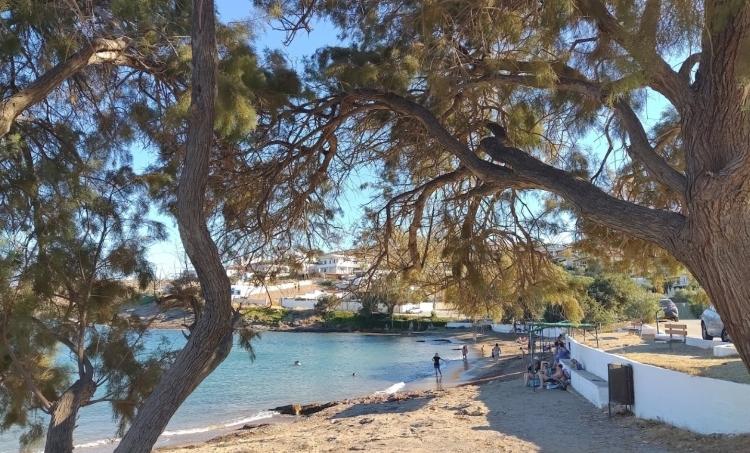 Golden Moon: The unknown small beach in Attica
