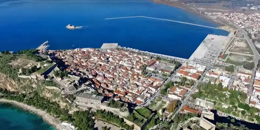Nafplio one-day excursions near Athens