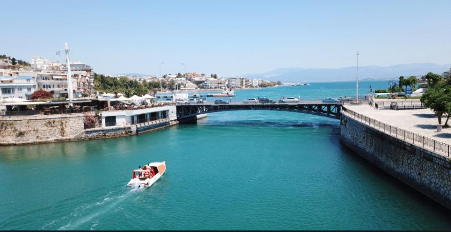 Η συρταρωτή γέφυρα στη Χαλκίδα με την 2.500 ετών ιστορία